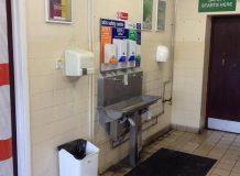 Refurbishment of Staff entrance for Coveris
