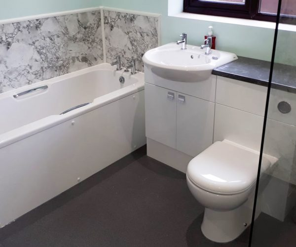 High specification domestic bathroom