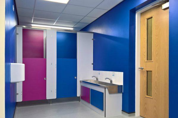 Ormiston School toilet refurbishment