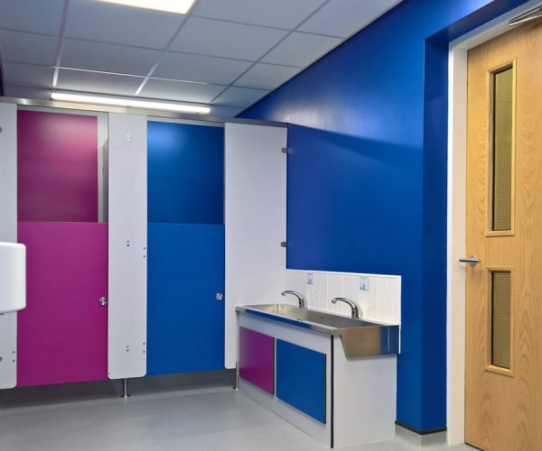 Ormiston School toilet refurbishment
