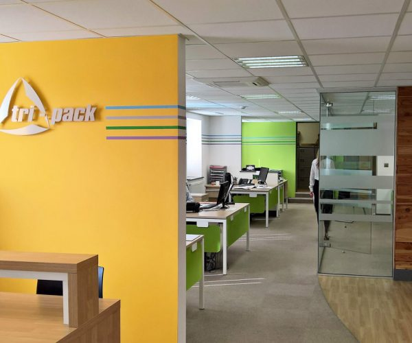 Tri-Pack office refurbishment