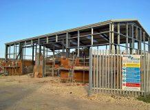 Premier Court industrial unit new build