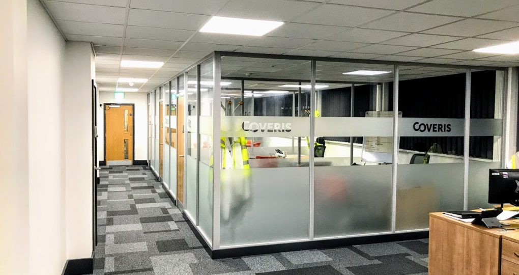 Office refurbishment - Coveris