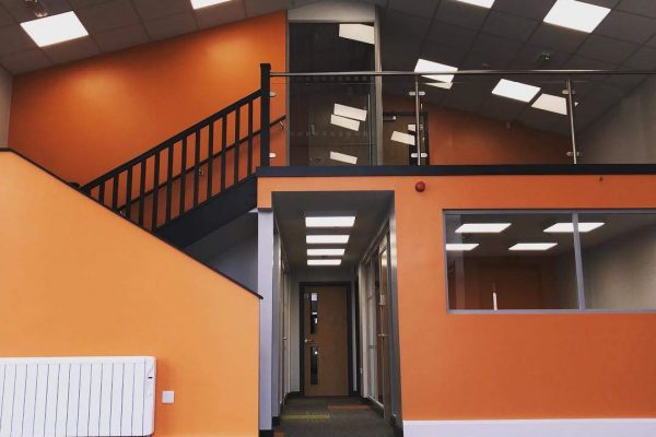 warehouse to office conversion mezzanine