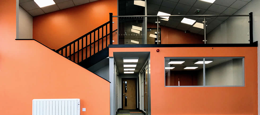 Newby leisure office conversion